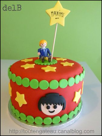 Gateau_Playmobil