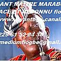 Grand maitre marabout voyant marabout béninois fiogbe
