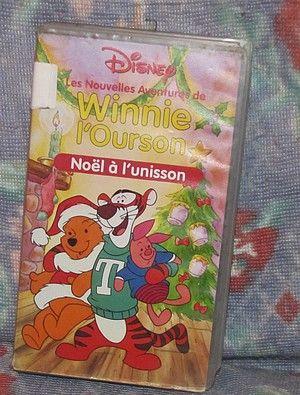 Vhs winnie l 39 ourson dr le de fant me mes collections - Winnie l ourson noel ...