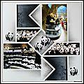 Pairi daiza 2014 - la grotte des pandas et sa boutique.