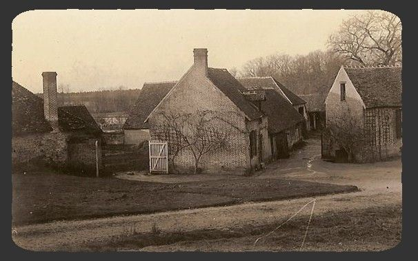 Montevran ancienne ferme 1912 002 1 photo de montevran for Porte de ferme ancienne