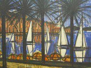 Palmiers et voiliers 1958