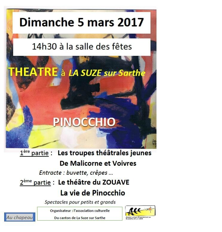theatre le 05 MARS
