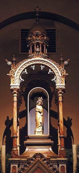 Saint Didier, chapelle ND de la Peinière, Statue de ND