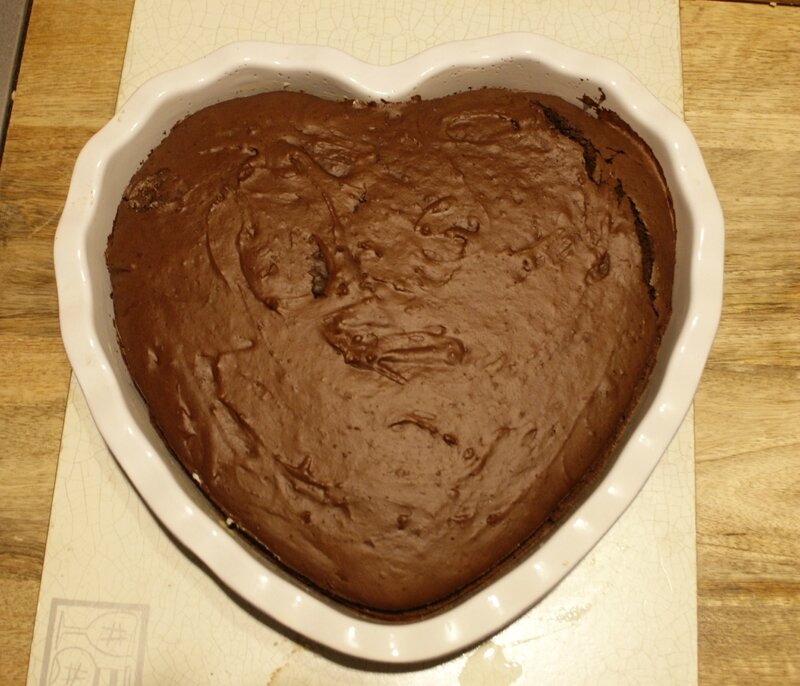 gâteau chocolat coeur 001
