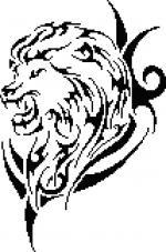 tribal03 lion grille pt