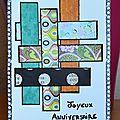 Carte Anniv Nathou - Mai 2013