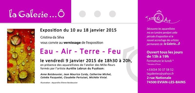 Exposition Eau-Air-Terre-Feu