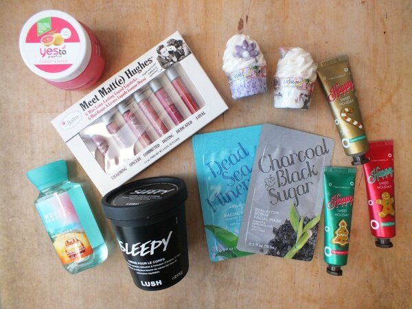 1 Mes cadeaux de Noël 2016 Ma Bulle Cosmeto