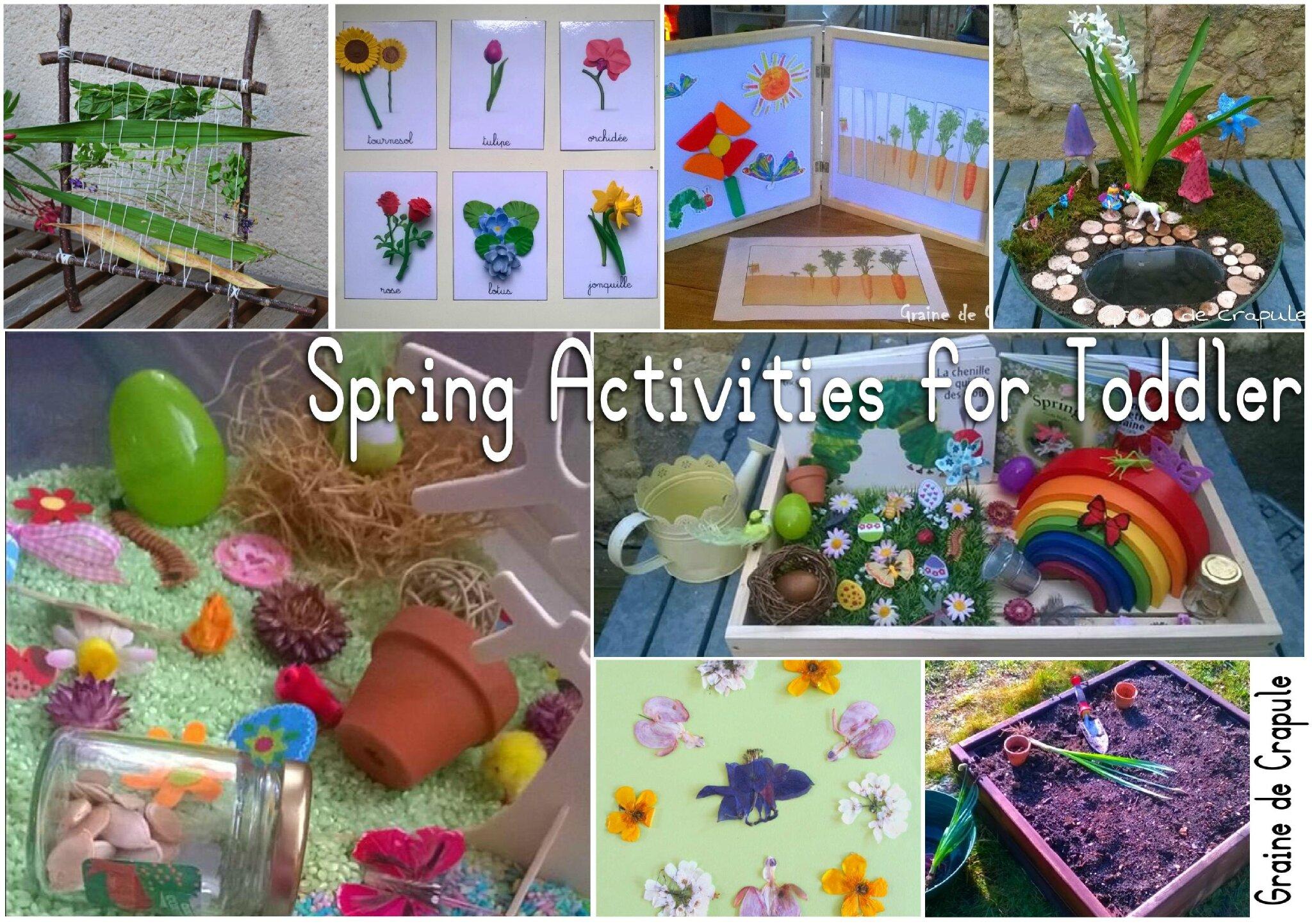 10 activités pour fêter le printemps!