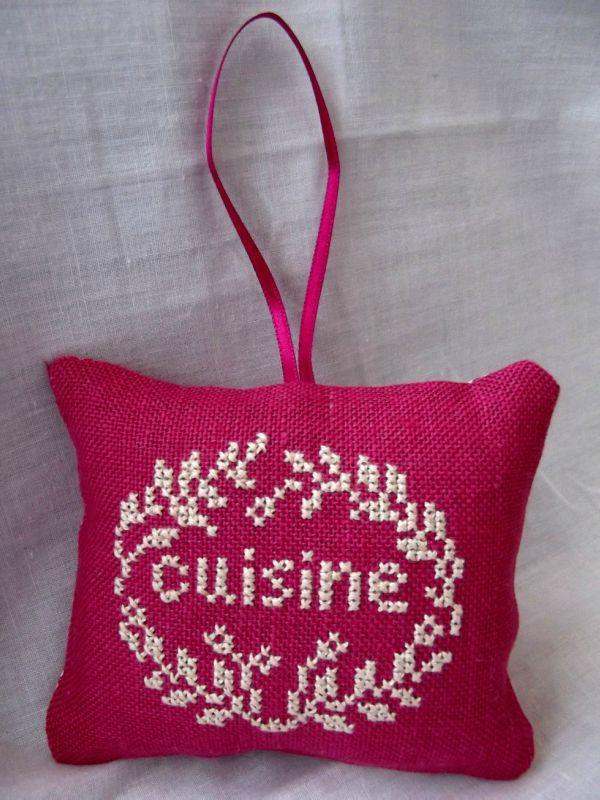 coussin cuisine