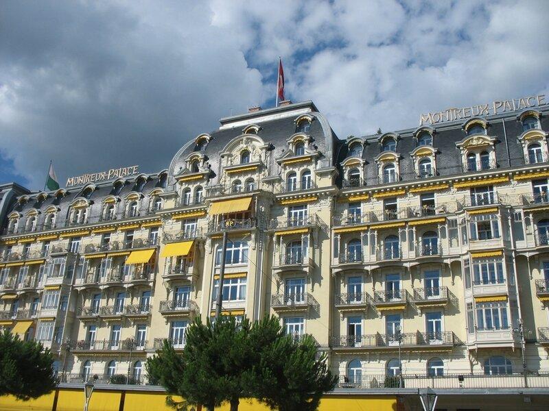 Montreux, le palace (Suisse)