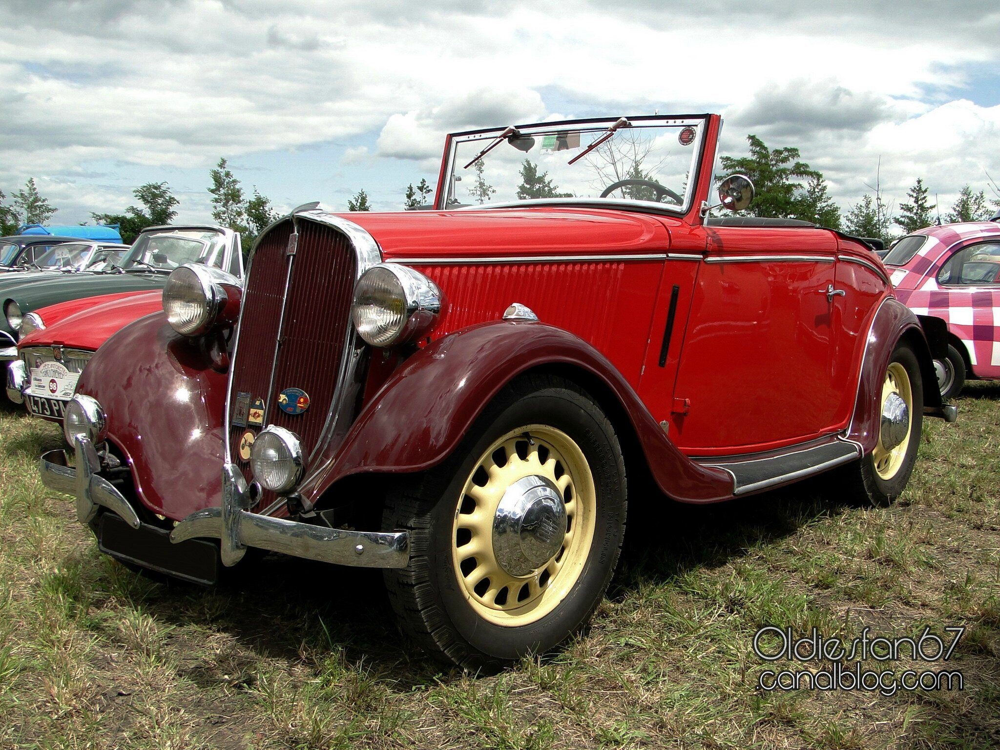 Simca Fiat Balilla Cabriolet 1935 Oldiesfan67 Quot Mon Blog