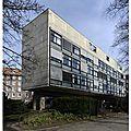La fondation suisse de le corbusier.