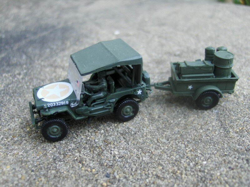 jeep willys maquettes militaires 39 45. Black Bedroom Furniture Sets. Home Design Ideas