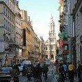 Rue de la chaussée d'antin - paris