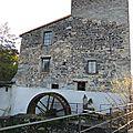 Moulins d'Auvergne : Le moulin des Roches, Les Martres de Veyre