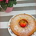 Gâteau pommes-raisins