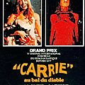 Carrie au bal du diable (naissance de la fureur)