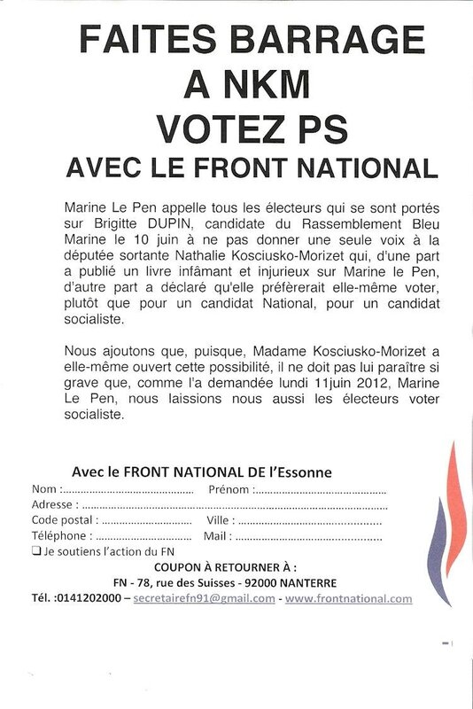 Tract FN Longjumeau r