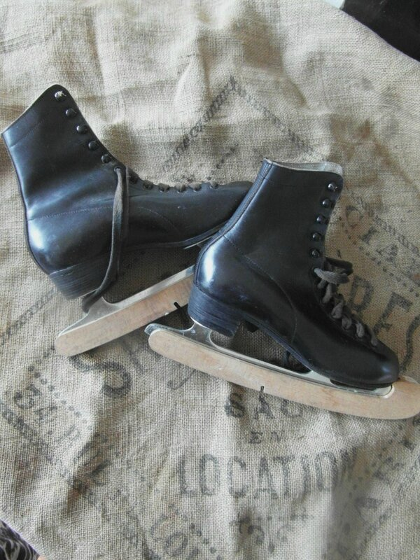 patins noirs