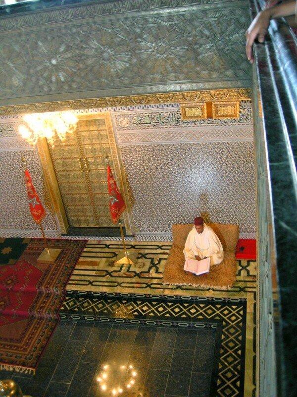 Mausolee Mohammed V Coran Rabat