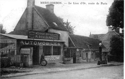 1 - Le lion d'Or - garage sur la route de Paris
