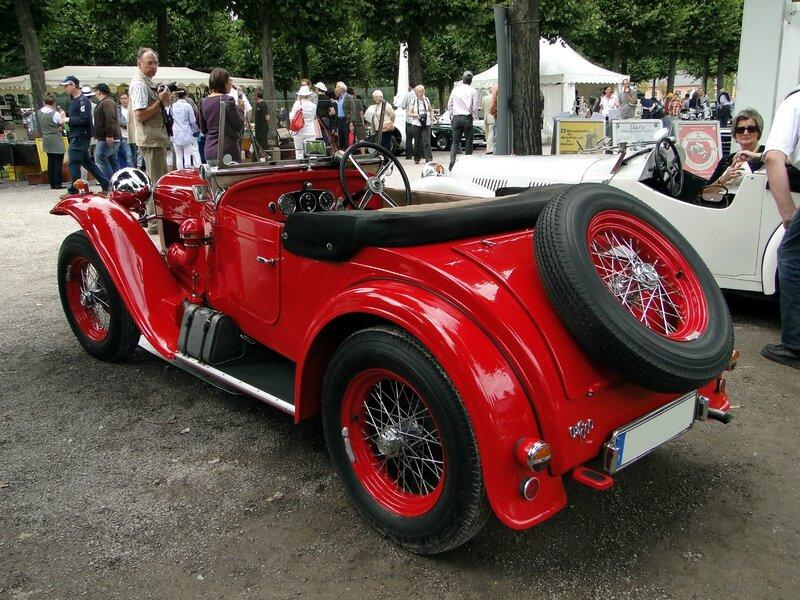 aero type 20 roadster 1933 classic gala schwetzingen 2011 2