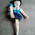 danseuse tutu bleu 10