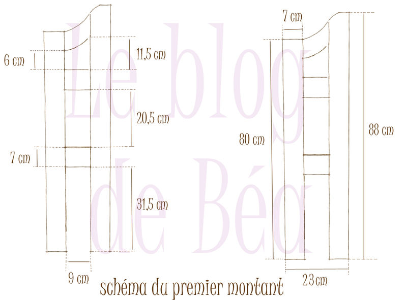 tuto d 39 une tag re d 39 angle suite et fin le blog de b a. Black Bedroom Furniture Sets. Home Design Ideas