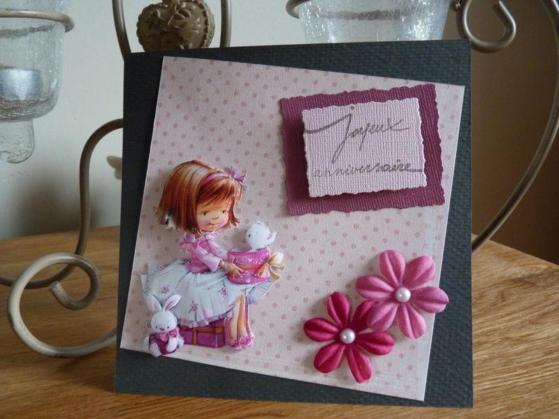Pour mon anniversaire 18/04/2010 Françoise la Bulle créative