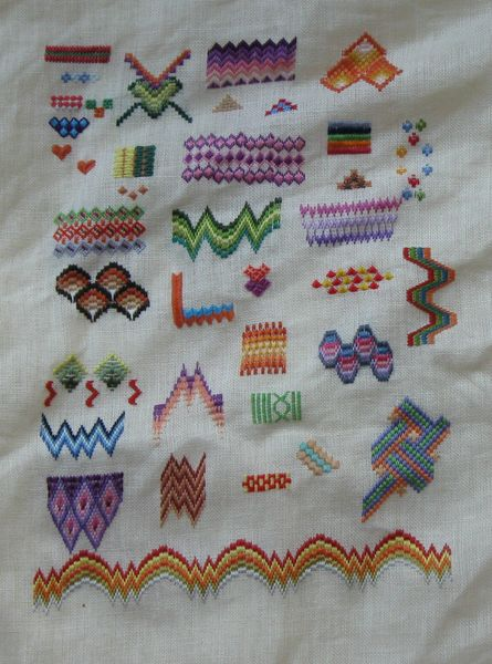 sampler bargello