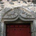 porte de la maison du louvetier à Saurier