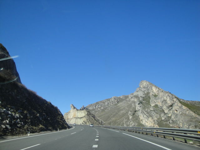 on the road for viana de castelo