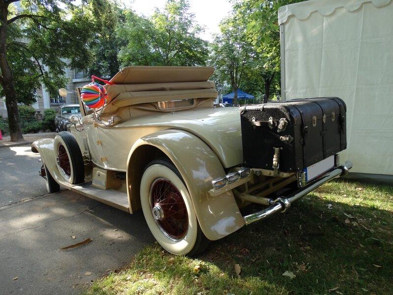 ROLLS ROYCE Phantom I cabriolet Stratford von Brewster 1927 Baden Baden (2)