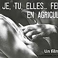 Je, tu, elles...femmes en agriculture