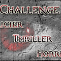 Challenge Policier/Thriller/Horreur