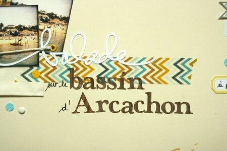 Balade sur le bassin d'Arcachon détail 2