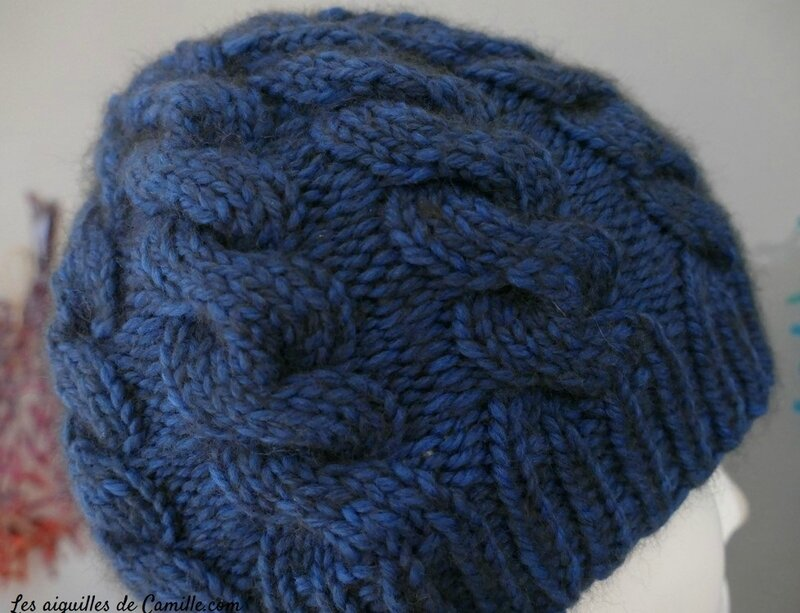 Bonnet One M Bleu parisien 2