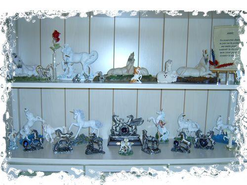 Collection de licornes