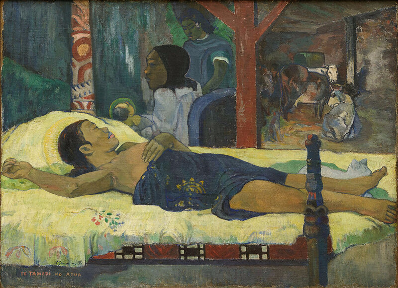 1896 - La naissance (Te tamari no atua)