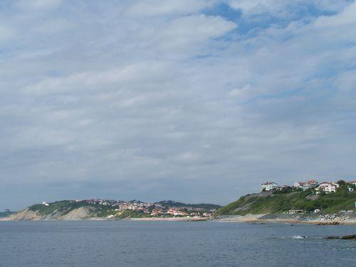 Guethary et Bidart par la côte