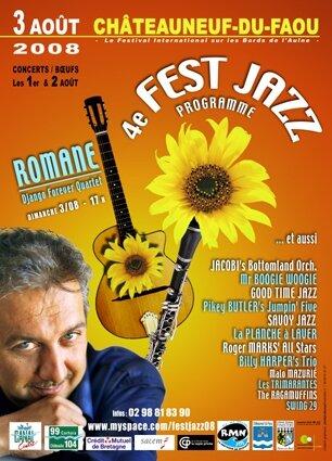 Programme (16 p.) : Fest Jazz - 2008