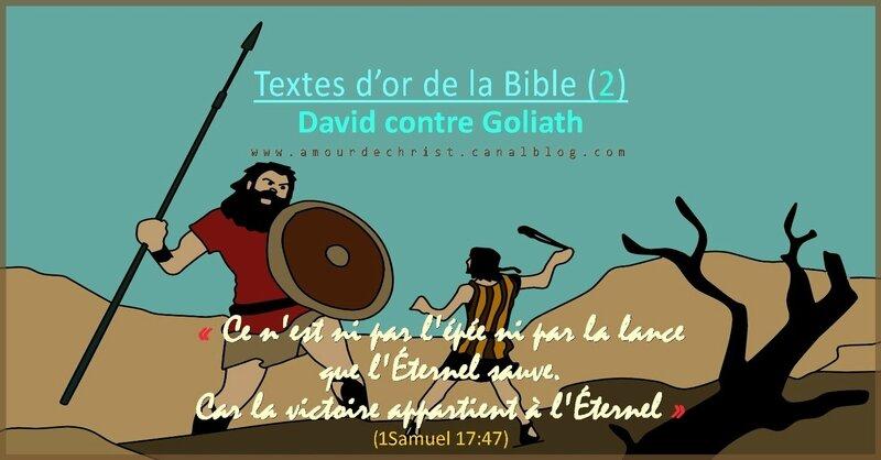 victoire de David contre Goliaht