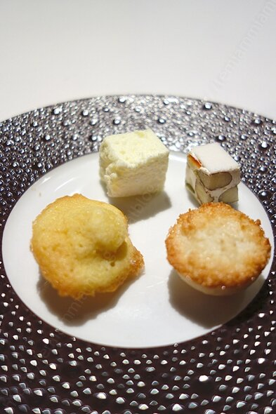 La laiterie menu repas mignardises 002 restaurant gastronomique 1 etoile