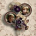 Past Time - Kit collab by Butterfly Dsigns & Le Scrap de Yas