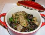 cassolette escargot cepes