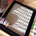Les moyens apprennent à tracer les spirales