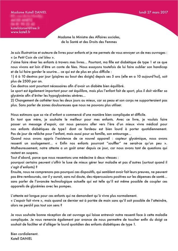 lettre Marisole Touraine