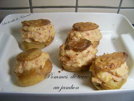 Pommes de terre au jambon 1